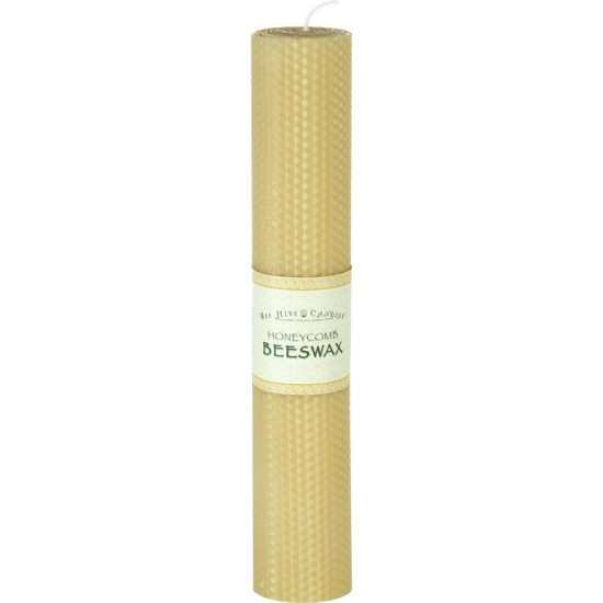 2x12 Honeycomb Beeswax Pillar Candle