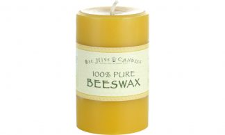 4x6 Beeswax Pillar Candle