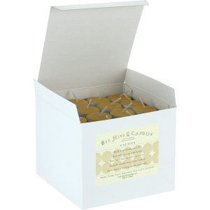 Beeswax Tea Light Candles - 112ct box