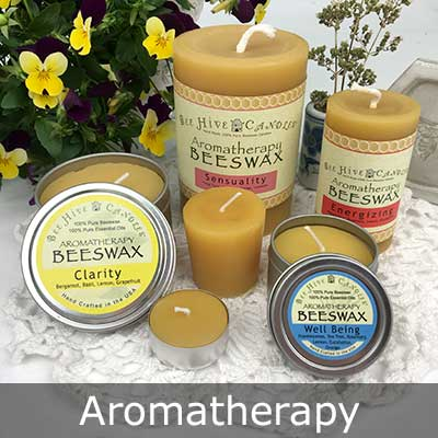 Aromatherapy Beeswax Candles