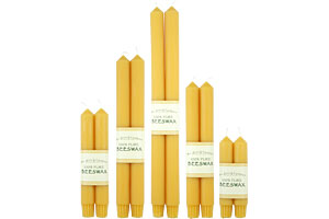 Colonial Beeswax Tapers