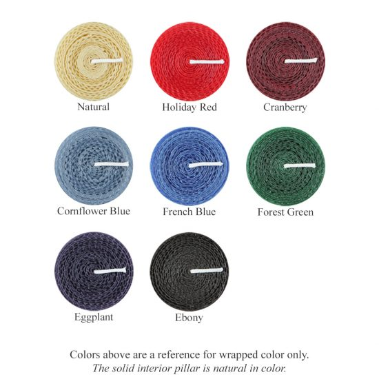 Honeycomb Wrapped Color Chart