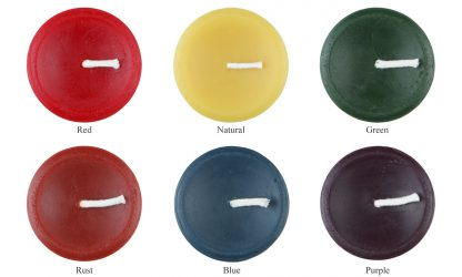 Beeswax Color Chart