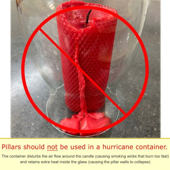 Not for use in hurricane container