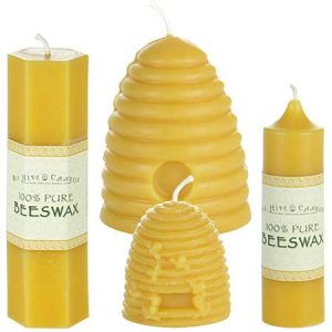 Sculpted Beeswax