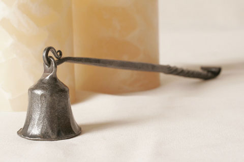 Wrought Iron Candle Snuffer