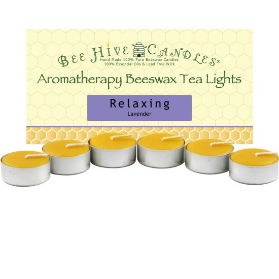 Aromatherapy Beeswax Tea Light Candles