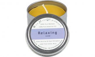 Aromatherapy Beeswax Travel Tin Candle