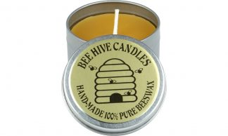 Beeswax Travel Tin Candle