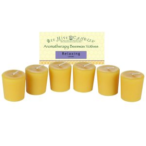 Aromatherapy Beeswax Votive Candles
